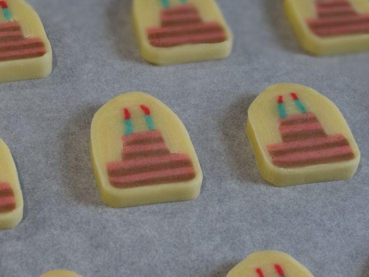 バースデーケーキ♡アイスボックスクッキー by えん93 [クックパッド] 簡単おいしいみんなのレシピが233万品