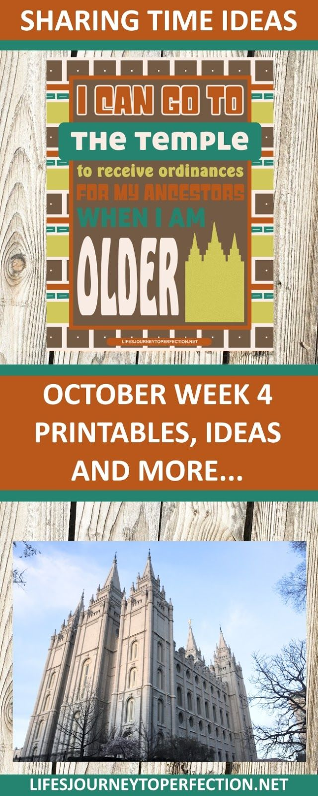 OCTOBER WEEK 4 SHARING TIME IDEAS, PRINTABLES AND MORE: I CAN GO TO THE TEMPLE TO RECEIVE ORDINANCES FOR MY ANCESTORS WHEN I AM OLDER