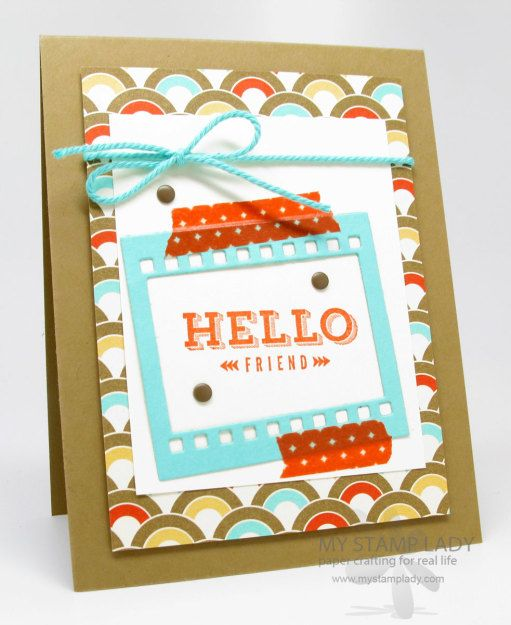 Peachy Keen Stampin' Up! set
