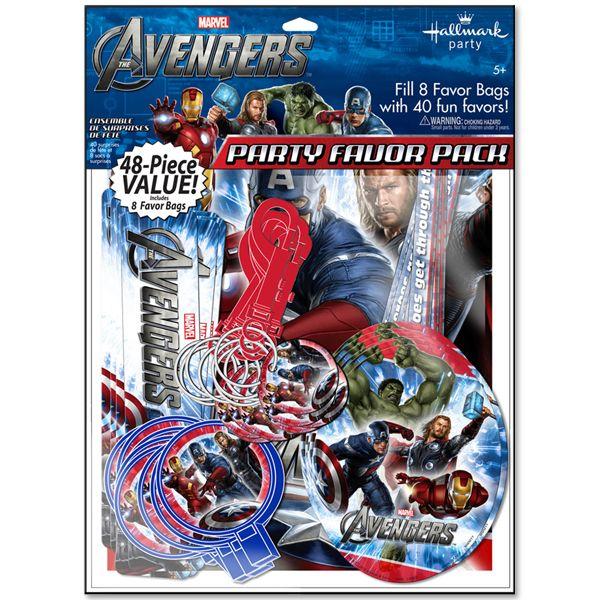 The Avengers Value Favor Pack!