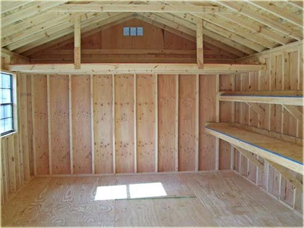 Free Storage Shed Plans | If you want to build your own shed like in the examples above I highly ...