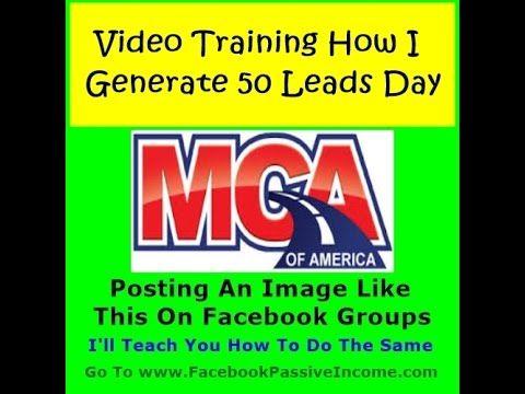 Facebook MCA Motor Club America Leads Training Review | How Generate MCA Motor Club America Leads - YouTube