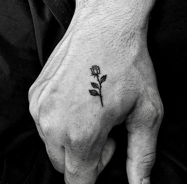Galyagisca Tattoos Pictures Hand Tattoos Tattoo Ideen Kleine Rose Tattoos