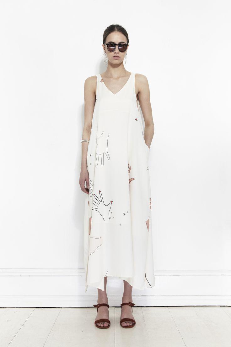 Printed summer dress by Mr. Larkin | Copenhagen based clothing label