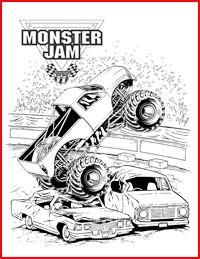 69 best monster truck party images on pinterest monster trucks