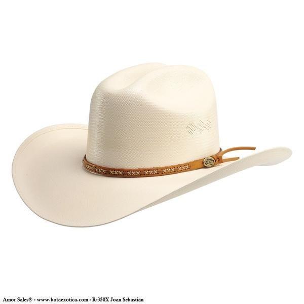 Sombrero Vaquero R350X Joan Sebastian Rectas 80b59c89a46