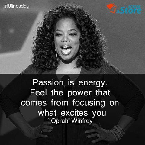 A powerful #Witnesday quote from Oprah Winfrey. #QOTD #wednsdaywisdom