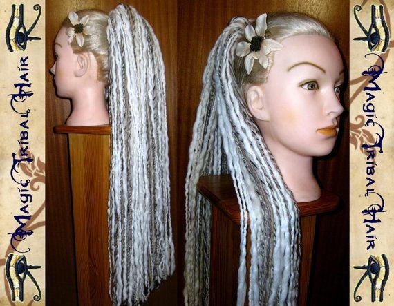 DREAD FALLS Wolfheart dreadlock dreads hair by MagicTribalHair