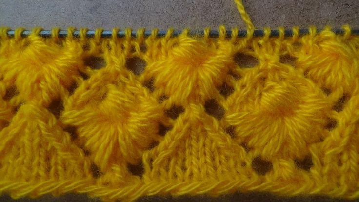Узор спицами - РАКУШКА. knitting patterns