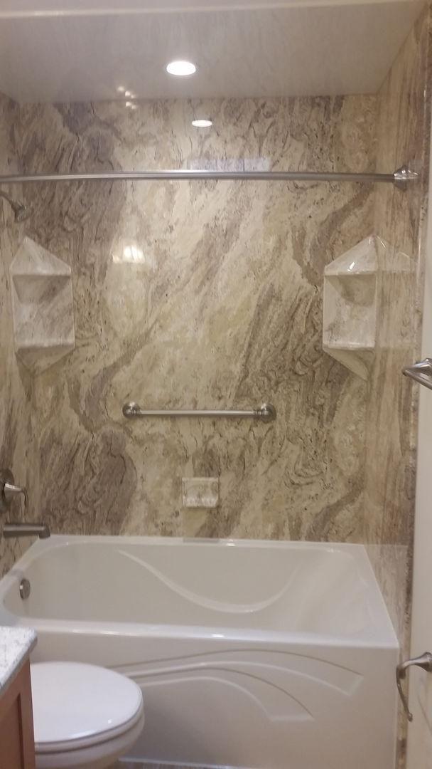 Design Options Color Selection Bathroom Trends Bathroom Remodel Questions Shower Remodel Fiberglass Shower Bathroom Remodel Photos