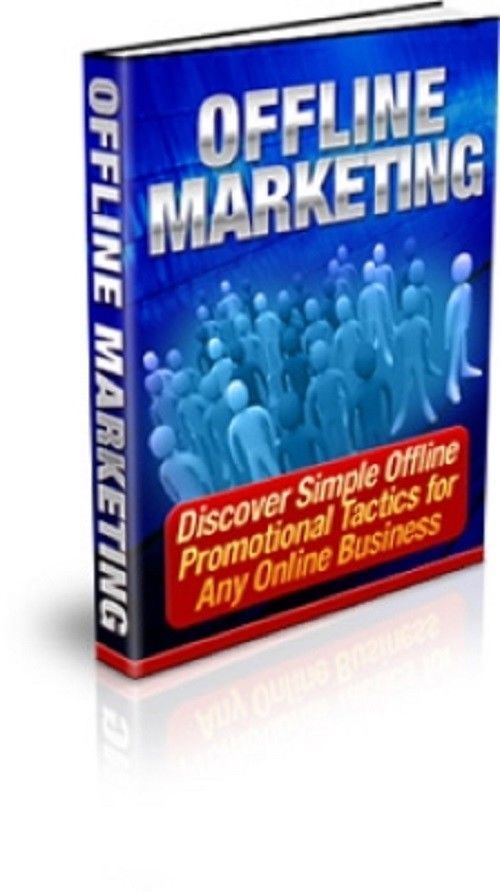 Offline Marketing Master Resell Rights Free International Shipping