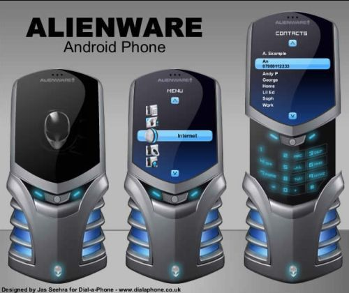 Alienware Android Concept Phone Revealed |Latest Mobile Phones ...