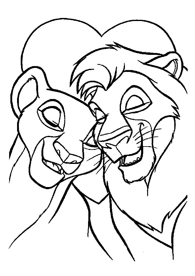 Disney Lion Coloring Pages
