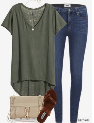 This looks like something I typically wear, except a little more put together. :) I love the colors and style.