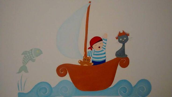 Pirata cameretta bimbo decorazioni camerette pinterest - Decorazioni cameretta bimbo ...