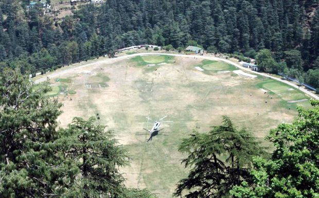 An Enriching Experience at The #Annandale, #Shimla - A large amount of money was handsomely donated by the #Indian Rajas. I too felt like I was back in time and amongst cricketers and Army racers who used the ground for such purposes. #travel #vacation #touristplaces