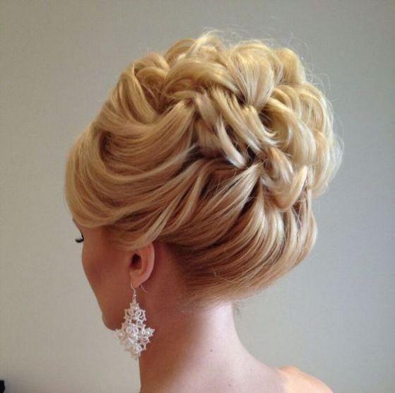 peinados recogido para prom