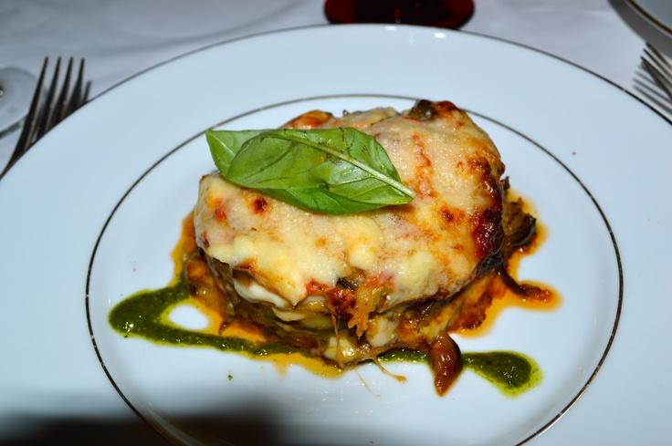 Eggplant Parmigiana l Alexandra D. Foster Destinations Perfected: Milan, Italy - Giacomo Bistrot