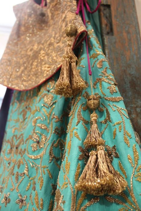 by monica and karishma. Wardrobe fashion indian couture wedding bridal inspiration ideas| Stories by Joseph Radhik
