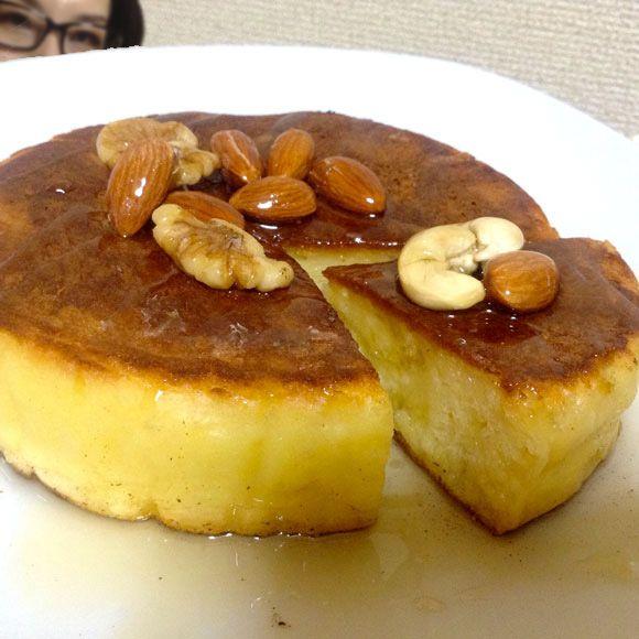 """食事にしてもおやつにしても美味しいパンケーキ。そのパンケーキにあるモノを入れると、とんでもなく """"モチモチふわふわ"""" な仕上がりになるのをご存知だろうか? それは …"""