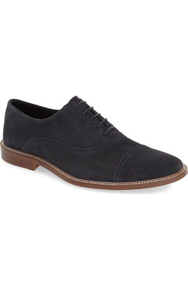 The Rail 'Payne' Cap Toe Oxford (Men) available at #Nordstrom