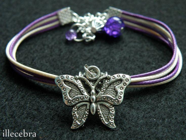 #rope #bracelet #butterfly #illecebra