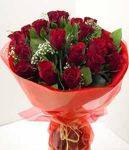 Hand tied roses Bouquets-Round shape,send flowers and gifts to dubai online,we support most cities in UAE.