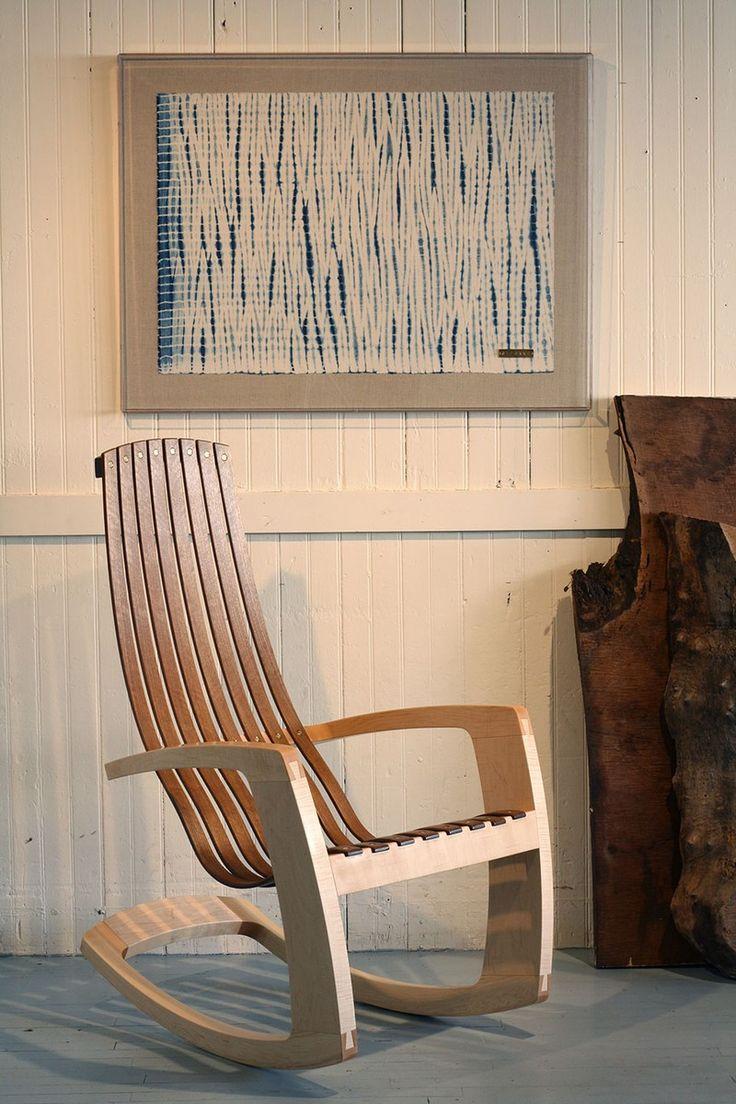 Rattan outdoor swing chair indoor hanging chair rocking chair ratta - Balan O Rustic Chaircool