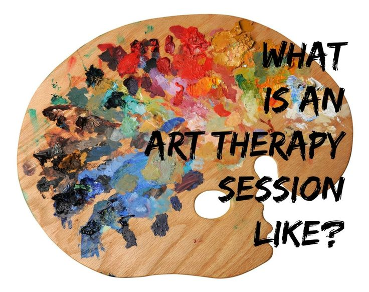 What is an art therapy session like? If you've ever wondered, here's an in depth description from start to finish!