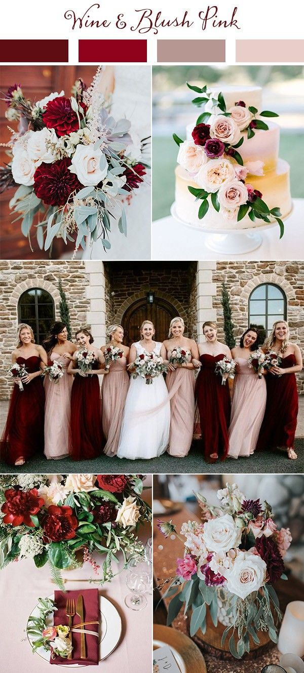 Wedding Trends Top 10 Wedding Colors Ideas For 2021 Emmalovesweddings Wedding Theme Colors Pink Wedding Colors Burgandy Wedding