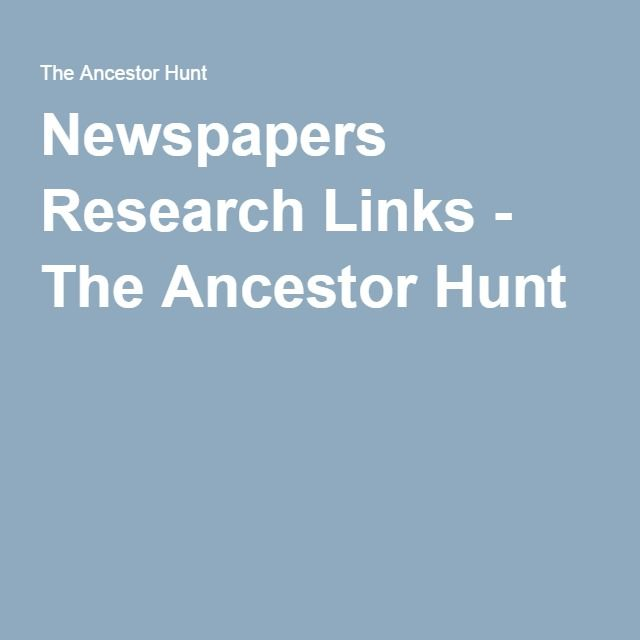 research on newspaper The latest tweets from unh research news (@unhresearchnews) the latest research ramblings from new hampshire's public research university, by unh manager of research and outreach communications beth potier.