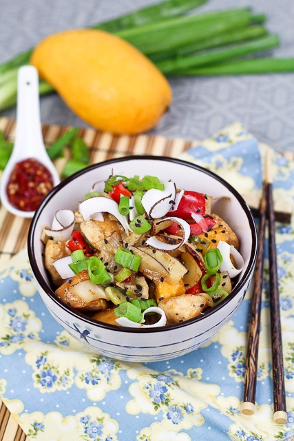 Spicy Mango And Coconut Chicken Recipe — Dishmaps