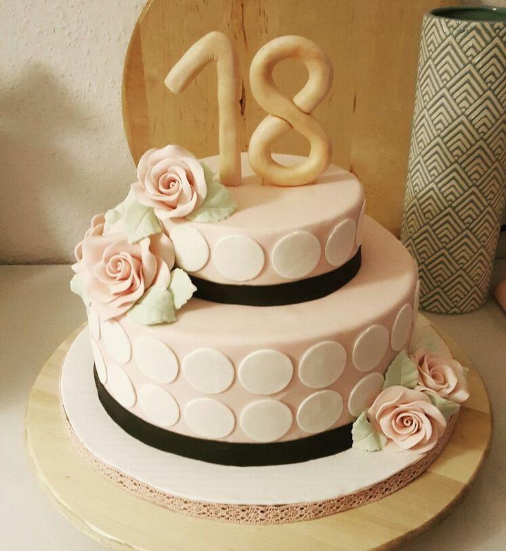 Torte Für 18 Geburtstag Mädchen Hylenmaddawardscom