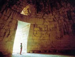 Tumba De Agamen N Interior Micenas Grecia