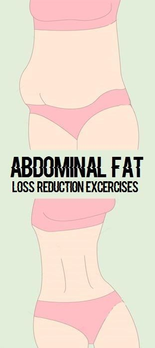 Effective Exercises To Reduce Abdominal Fat Quickly