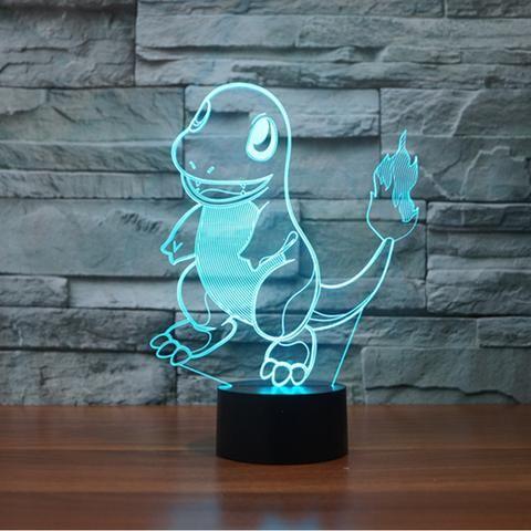 Charmander  3D illusion night light