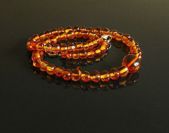 Baltic Amber Necklace amber jewelry amber necklace by styledonna