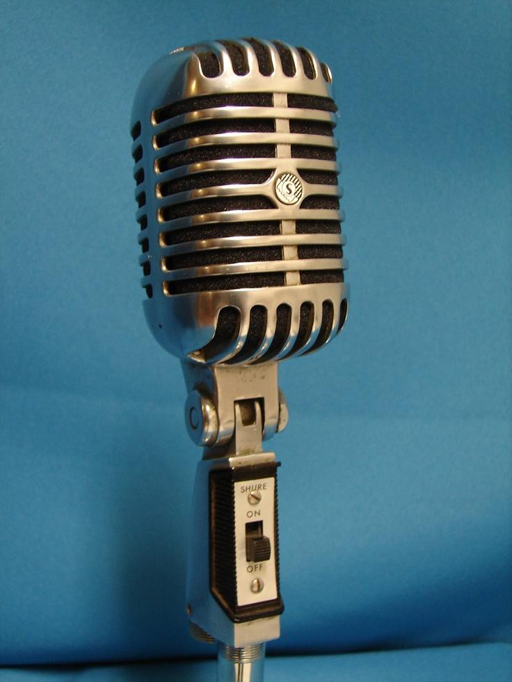 Vintage Shure Model 55 Microphone The Quot Elvis Mic