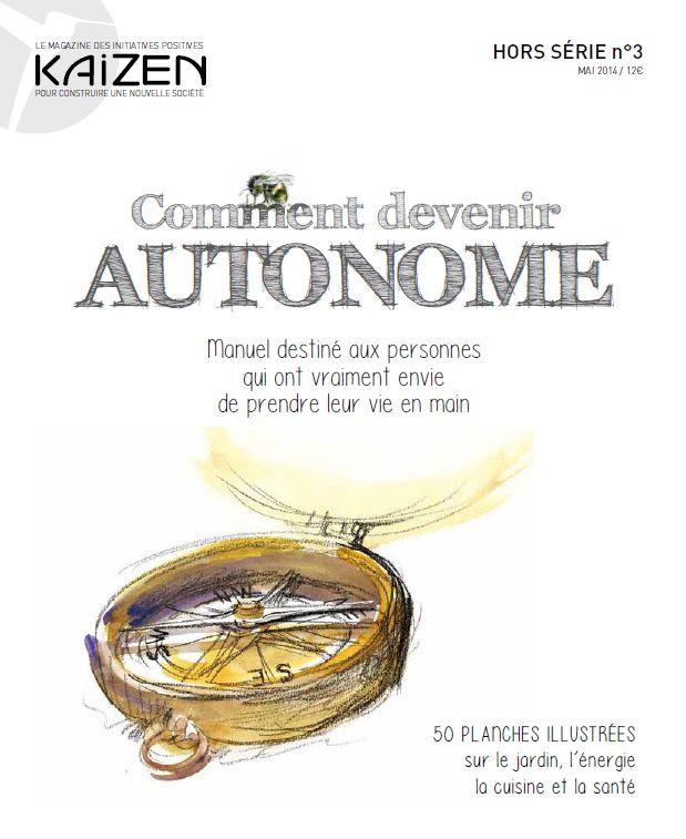 Kaizen Magazine Hors-série : Comment devenir autonome ? 12€