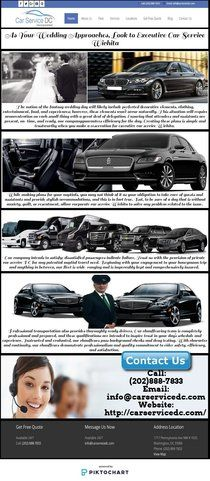 As Your Wedding Approaches, Look to Executive Car Service | Piktochart Infographic Editor