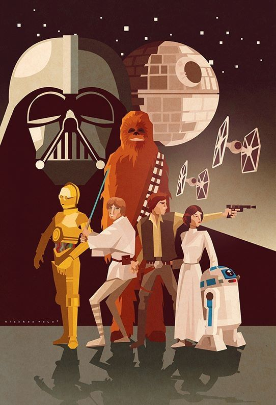 Star Wars by Carlos Lerms wish this could be a shower curtain