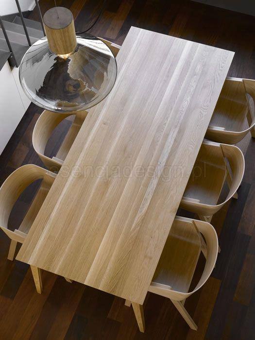Stół Jutland. Stoły drewniane na zamówienie http://esencjadesign.pl/stoly/298-stol-jutland-dab.html