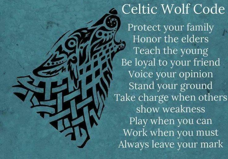 Celtic Wolf | Pagan - Symbolism | Pinterest