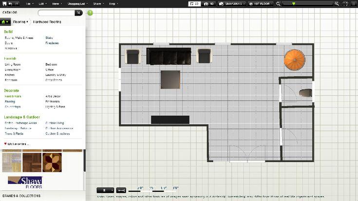 On trace les pièces, on meuble logiciel du0027architecture Pinterest