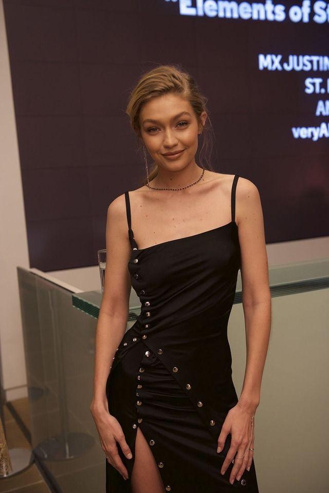 Gigi Hadid at the Aperture Gala in New York City