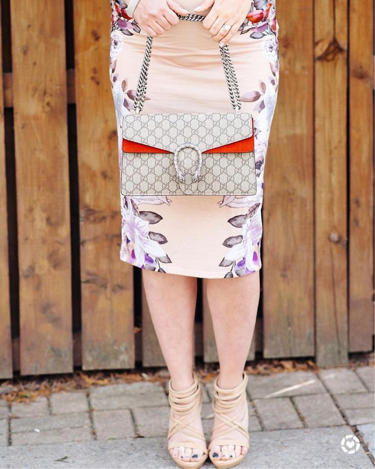 Gucci Dionysus purse | strappy sandals | floral maternity dress | bump style
