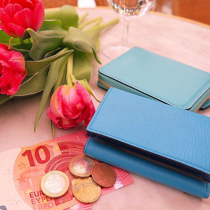 いいね!1,177件、コメント10件 ― @miho0319kawahitoのInstagramアカウント: 「・ 👉スワイプ👉 お花を買って向かった先はHotel Grand Amour🌷💗 ホテルとチューリップと€10のピンク×ラルコバレーノのお財布のブルーの組み合わせがツボすぎて📸❤😍🌷…」