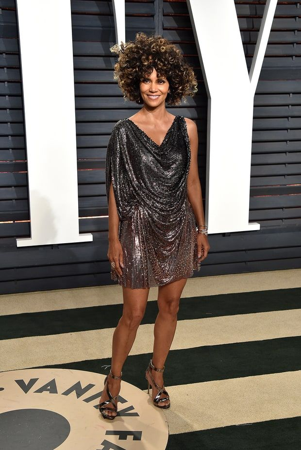 Celebrity & Gorgeous Fashion  Halle Berry   Oscars 2017 Afterparty Fashion