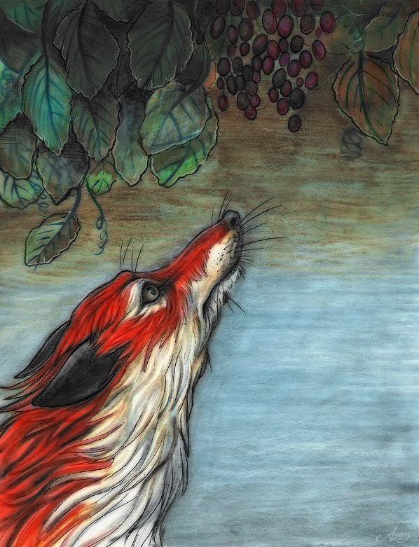 The Fox and the Grapes - Anya McNaughton