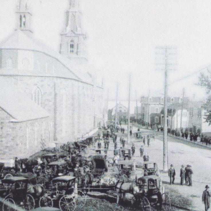 Rimouski Cathédrale circa 1920